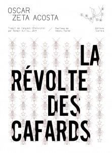 La Révolte des cafards, Oscar Zeta Acosta, Tusitala, Couverture